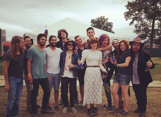 Young the Giant and Grouplove.