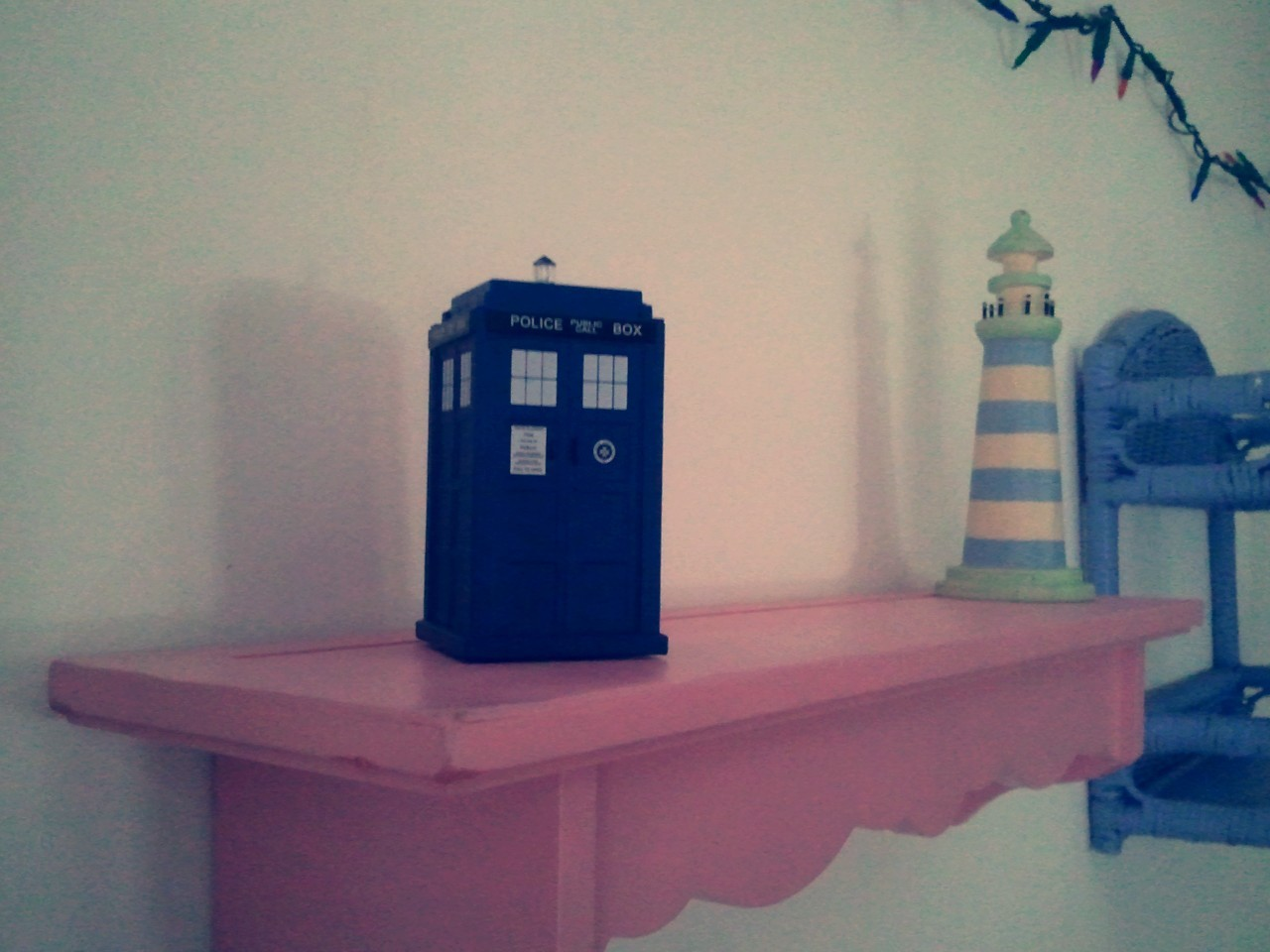 A new TARDIS appears! (Taken with InstaCam)