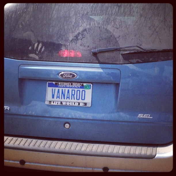 Vanaroo!! #bonnaroo  (Taken with Instagram)