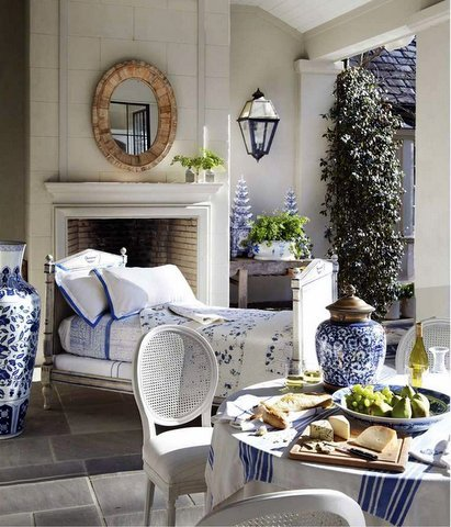 Loggia by Beth Webb Via Chinoiserie Chic