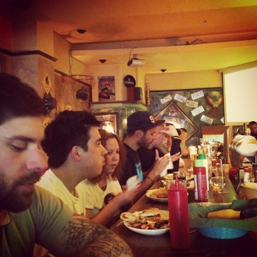 The gang at Coopers (Taken with Instagram)