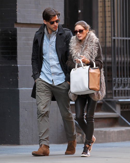 sunshineandfeelingfine:  world's most stylish coupld 19 olivia palermo & johannes huebl
