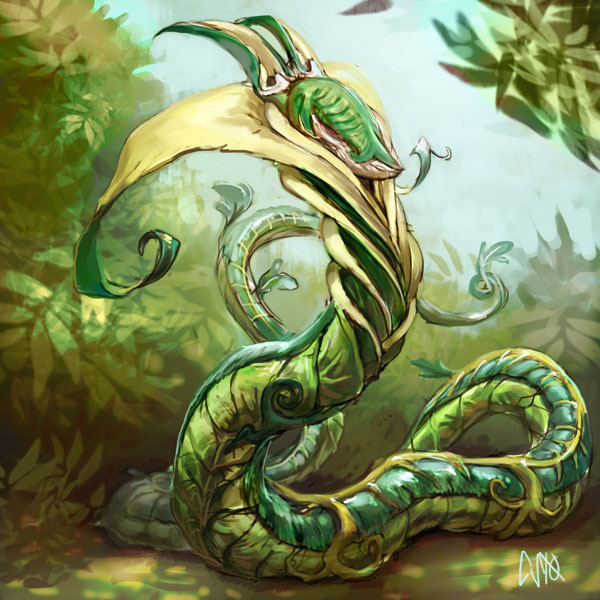 tuataratough:  ahh—real-pokemon:  Serperior   Damn.