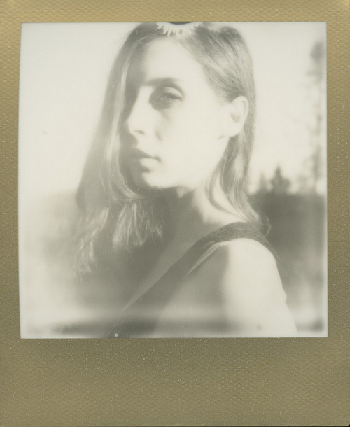 untitled on Flickr. Bradley Laurent gave me a pack of Impossible Project's PX 600 Silver Shade back when we shot in January. I finally used it. Thanks, love. Model: Angela Avocado ♥