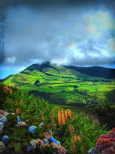 São Miguel Island, Azores, Portugal photo via leandro