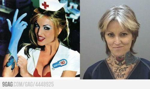 What the Blink-182 Girl looks like today.