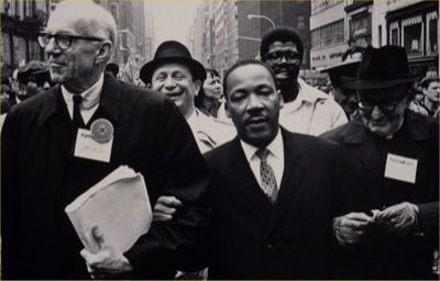"oldnewyork:  ""Rev. Dr. Martin Luther King, Jr. and Dr. Benjamin Spock lead an anti-war march to the United Nations, on 15 April 1967.  The protest began in Central Park, where over 150 draft cards were burned, and concluded at United Nations with a speeches by Rev. Martin Luther King, Jr. and others."" (link)"