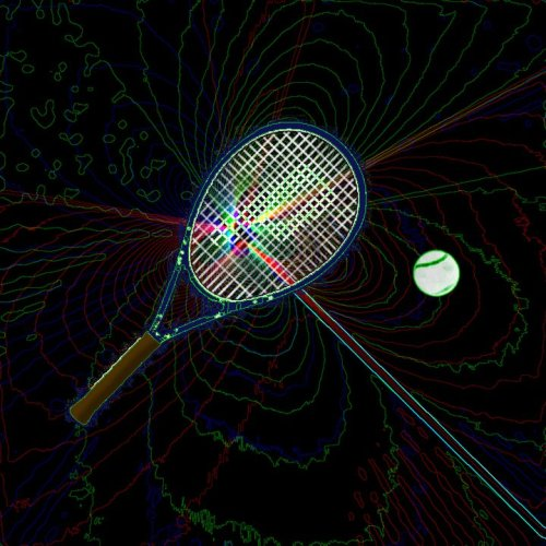 Song Art I Made: Sky Sailing: Tennis Elbow
