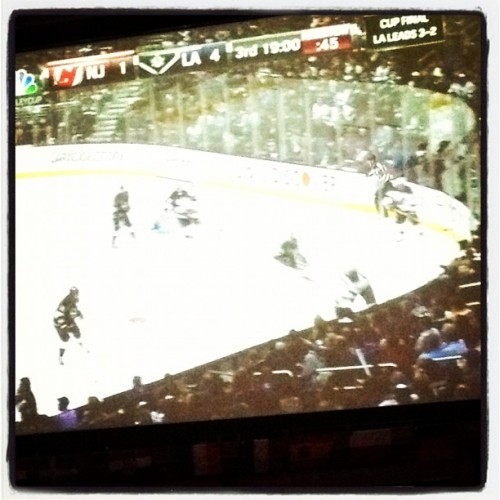 It's all gravy Los Angeles #stanleycup #hockey (Taken with Instagram)