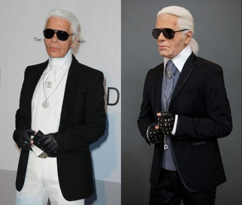 bohemea:  oystermag:  Karl Lagerfeld Immortalised in Wax