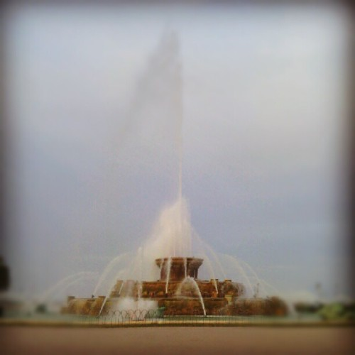 Buckingham Fountain<3 (Taken with Instagram)