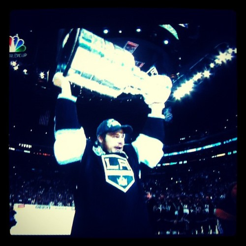 Amazing game. LA earned this! #STANLEYCUP (Taken with Instagram)