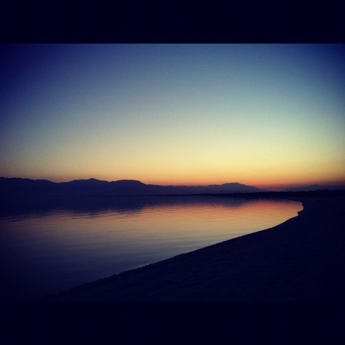@prescriptionpat #saltonsea #dusk (Taken with Instagram at Desert Beach)