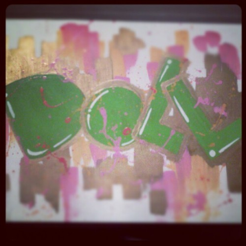 Whatchu know 'bout that #Doll #green #pink #gold  (Taken with Instagram)