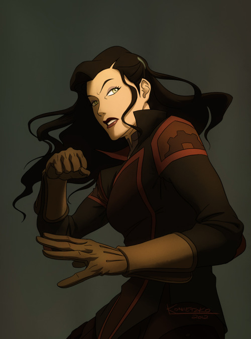 bryankonietzko:  Asami, ready to mix it up.