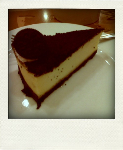 Starbucks' Oreo Cheesecake! :-)