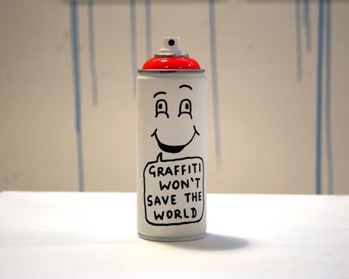 nevver:  Graffiti won't save the world