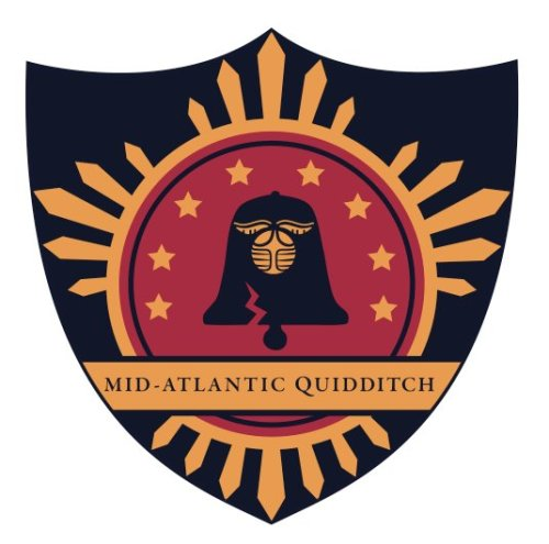 sarahwoolsey:  youwontlivethisonedown:  The official crest for the IQA Mid Atlantic Region! Mega-props for the inclusion of the liberty bell. Though I'm bummed to not be attending Quid-Con (where these babies will be available for purchase), I'm glad we finally have our own insignia! Looks like I'll just have to wait until the IQA throws them up online. Then I'll get one for ALL the jerseys, and sew on ALL the patches! Designed by Katelyn Lanphier of Kutztown Quidditch  IQA Mid-Atlantic has a new logo! And will be on patches available at QuidCon? yes please…  I swear, I still see Darth Vader's head every time I look at that liberty bell!  …still an awesome logo, of course.