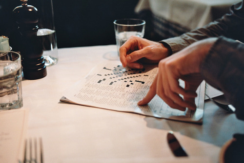 cuntable:  crossword | maialino by naftels on Flickr.