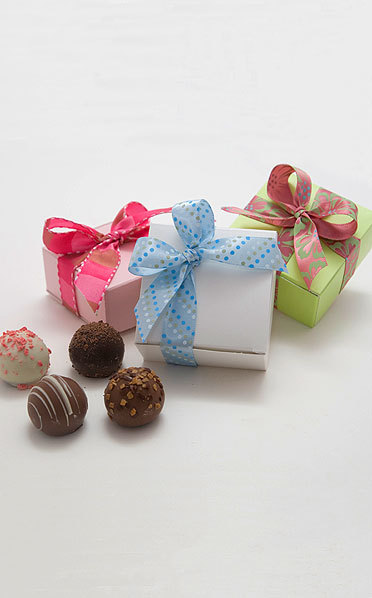 scrumptions:  4 Piece Small Truffle Boxes