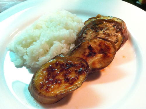 we love to cook - Miso-glazed Eggplant There are many miso ...