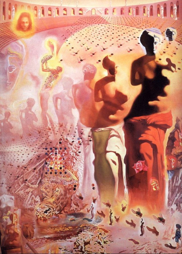 The Hallucinagenic Toreador, 1968-1970 - Salvador Dali