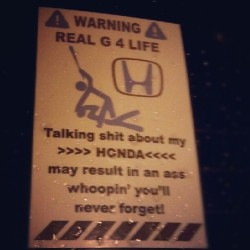Lol .. on sammys #tsx #honda #acura #jdm #rns #rg4l (Taken with Instagram)