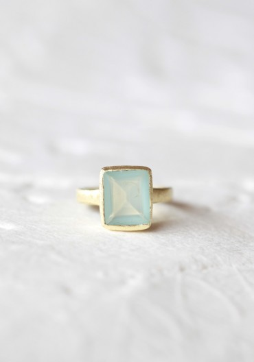 (via Color My World Indie Aquamarine Ring)
