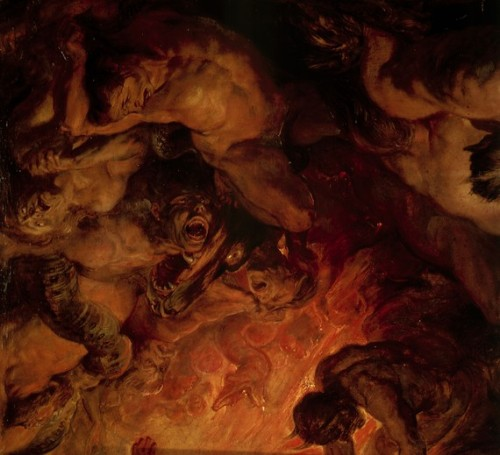 drenchedland:  Peter Paul Rubens, The Day of Judgement 1620  Can't come soon enough.
