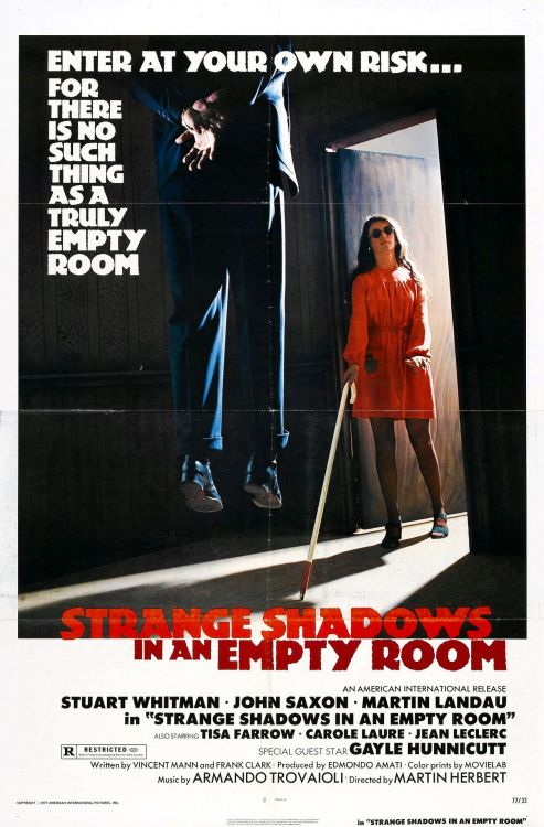 Strange Shadows in an Empty Room aka A Special Magnum for Tony Siatta (1976)