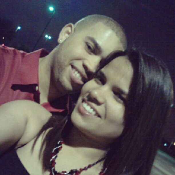 With my baboso I LOVE U baby (Tomada con Instagram)