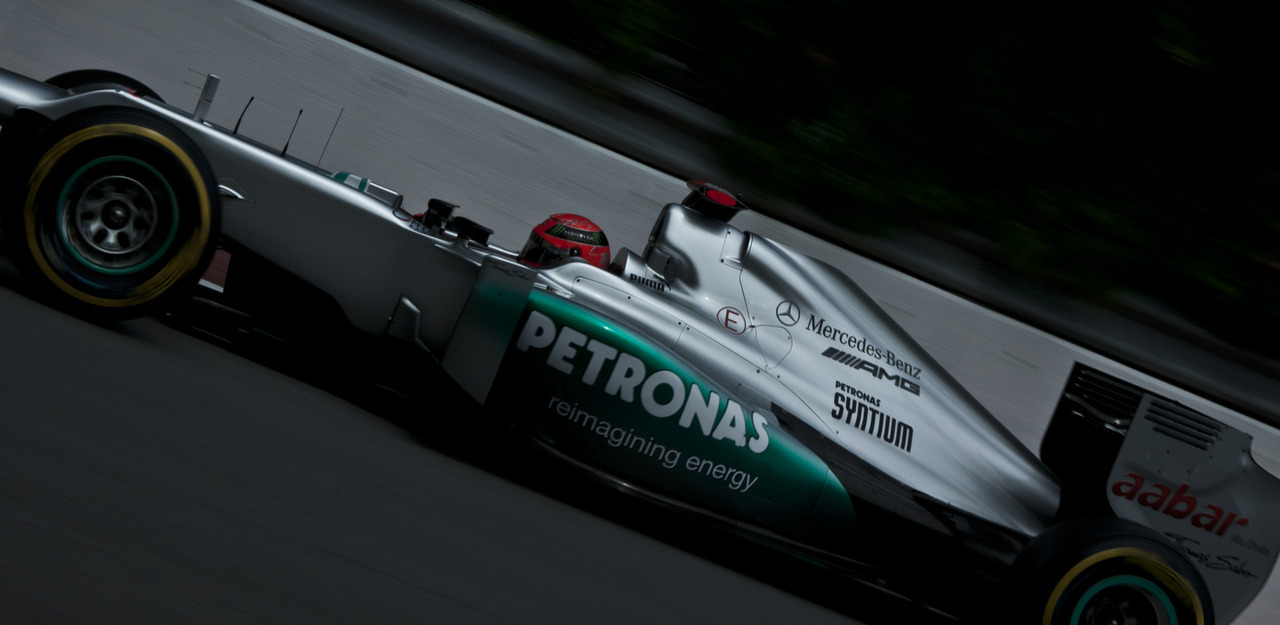 Michael Schumacher. Mercedes. Grand Prix du Canada. June 9th 2012.