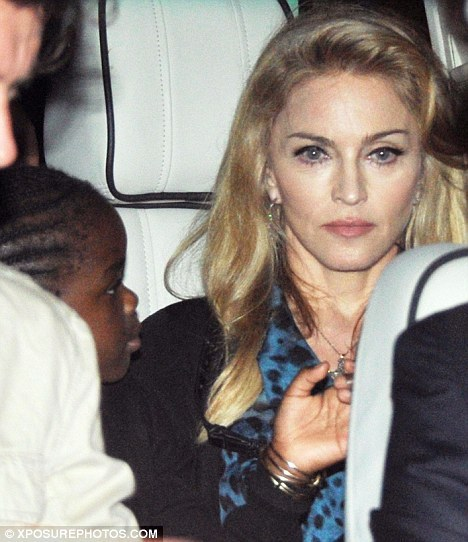 Madonna and and daughter Mercy in Rome.