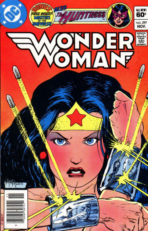 Wonder Woman #297, November 1982, cover by Mike Kaluta