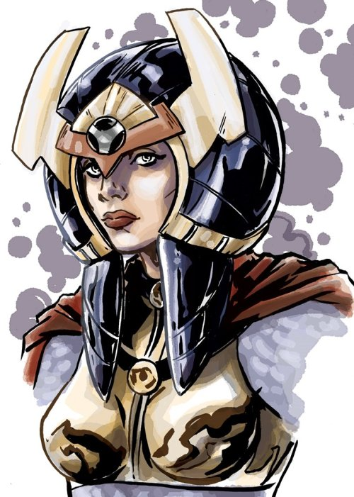 thehappysorceress:  Barda by Marc Laming