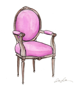aplaceforart:  chair by inslee