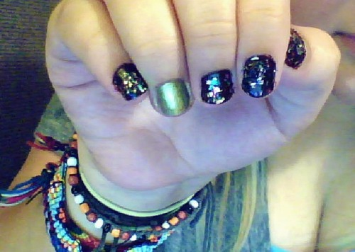my ugly nails