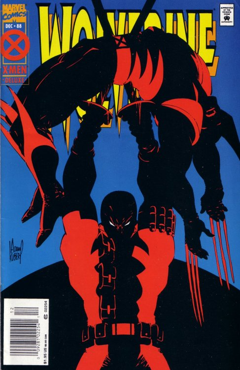 Wolverine #77, December 1994, cover by Adam Kubert