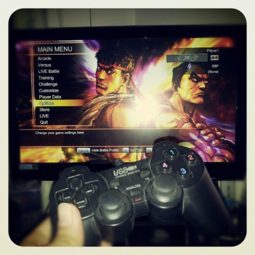 Tekkenxsf. Catching up on games (Taken with Instagram)