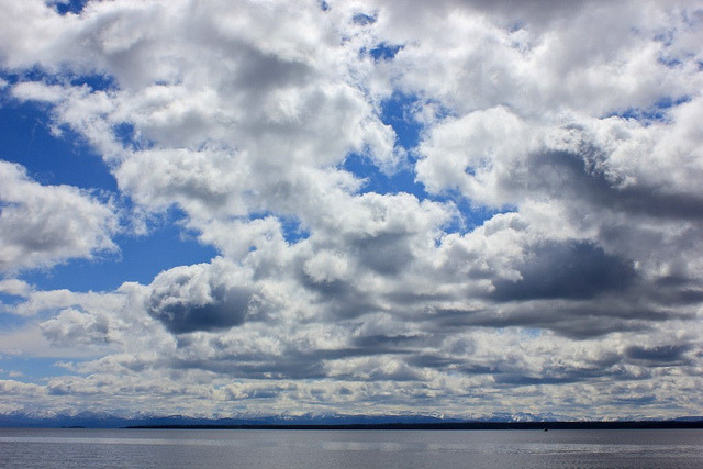 Yellowstone Lake on Flickr. (Ganglia)