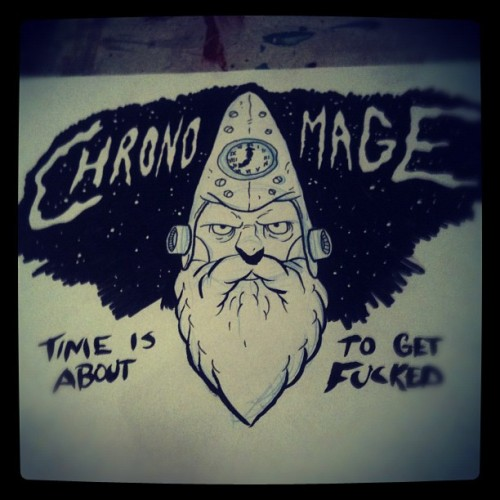 Chrono Mage (Taken with Instagram)