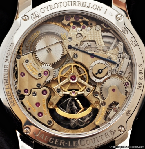 watchedout:  Behind the Master Gyrotourbillon 1