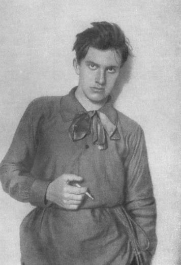 legrandcirque:  Russian poet and playwright Vladimir Mayakovsky, 1910.