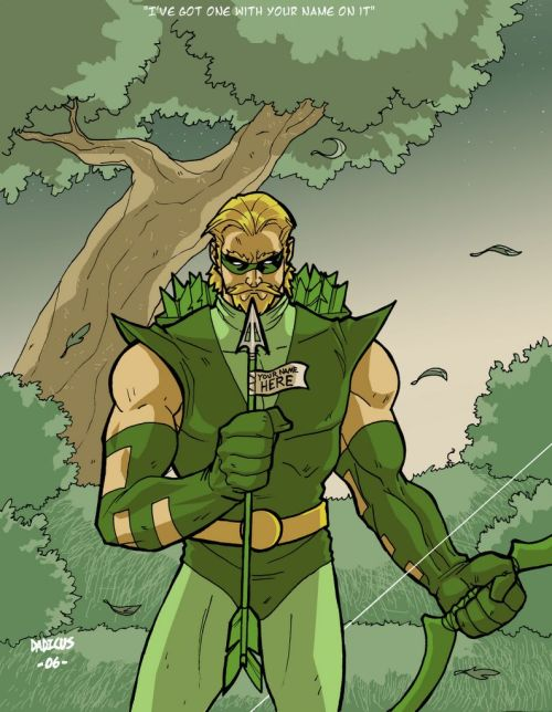 Green Arrow by Derrick West