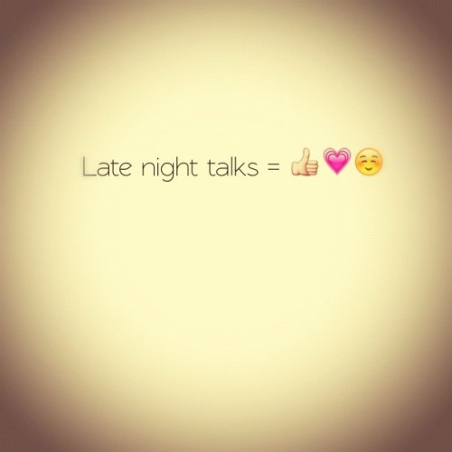 #latenight #talks #smiles #happy #laugh #text #skype #tweegram #cantwaittoseeyou (Taken with Instagram)