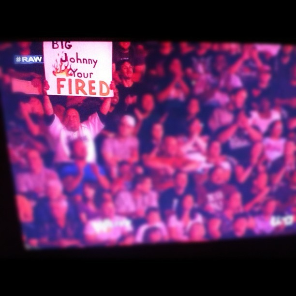 *SIGH* #wwe #raw (Taken with Instagram)