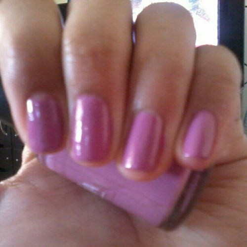 Caronia nailpolish in Cashmere (Taken with Instagram)