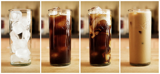 Iced Coffee Tych by zanderwhite on Flickr.