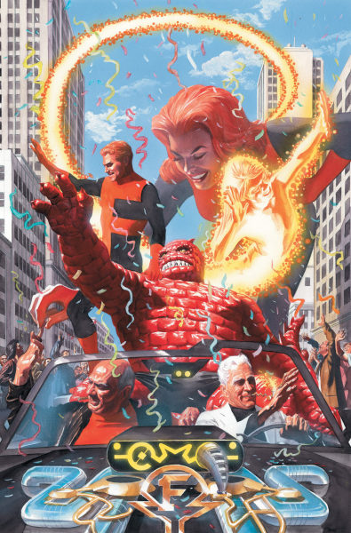 ASTRO CITY: FAMILY ALBUM NEW EDITION HC and TP Cover | Alex Ross  via Super Punch