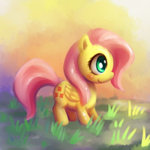 FluttershyHaven't drawn her for a while.